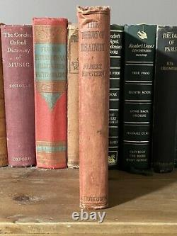 1920 Albert Einstein The Theory Of Relativity Second Edition METHUEN RARE