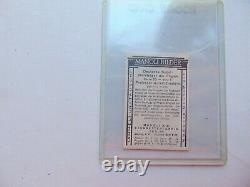 1928 Albert Einstein Manoli Builder Rookie card very good to ex