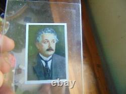 1928 Salem Albert Einstein Rookie card