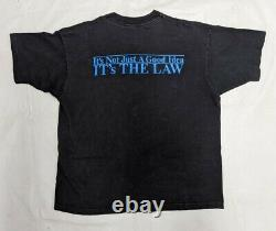 1990 ALBERT EINSTEIN XL Black T Shirt VTG Single Stitch E=MC2 Science Physics