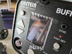 640 WS Einstein Wireless Flash Only 689 Flashes! Mint Condition Complete Set