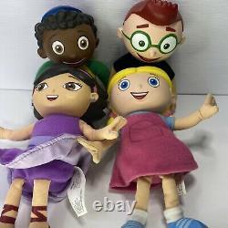 8 Talking Plush Figures Little Einsteins Disney Leo, Quincy, June and Annie