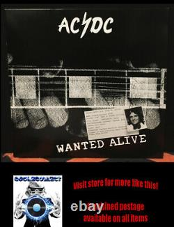 AC/DC Wanted Alive Gold vinyl (2002) Very Rare