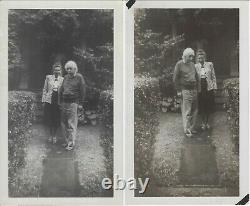 ALBERT EINSTEIN Superb authentic signed photo, with snapshots and telegram