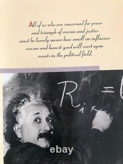 Albert Einstein, Rare Authentic 1988 Door Poster XL 26 X 74