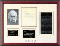 Albert Einstein Typed Letter Signed 05/04/1933