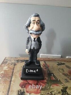 Albert Einstein rare resin figure ornament perfect condition