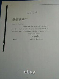 Albert Einstein's Letter To My Father March 17, 1954