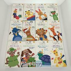 Baby Einstein 12 VHS Lot Animals Galileo Beethoven Newton Mozart Bach Van Gogh