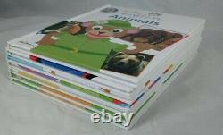 Baby Einstein Lets Explore Hard Cover Books, Lot of 6 pre owned + Parent Guide