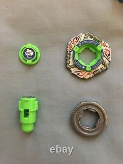 Beyblade Limited Edition 2004 Einstein MS + Parts Bundle + Case + Launcher
