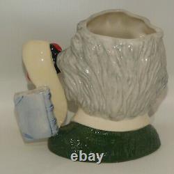 D7023 Royal Doulton large character jug Albert Einstein UK made MINT
