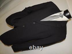 D-53020 Hugo Boss Einstein/Sigma men's Black jacket coat 44 long