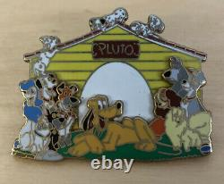 Disney Dog House Pluto Lady Tramp Einstein Peg Jock Percy Dodger Pongo Pin 2006
