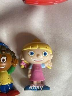 Disney Little Einsteins Pat Pat Rocket Talking 4 Figures Read Description