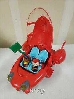 Disney Little Einsteins Pat Pat Rocket with Two Figures Leo and Quincy Works
