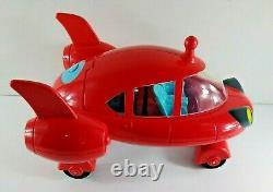 Disney Little Einsteins Red Pat Pat Rocket Ship & Leo Figure Tested Works! 2006