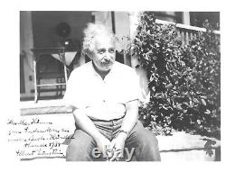 Einstein Photographic Prints, Zionist Leaders, First Trip to U. S, With Wife