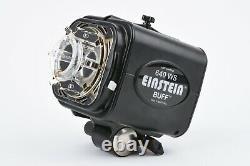 Exc++ Paul C. Buff Einstein 640 Ws Flash Unit, Power Cord, Only 1625 Flashes