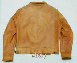 Freedom Campus Jacket 40 Leather A-1 Cossack Einstein