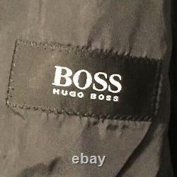 HUGO BOSS EINSTEIN SIGMA Gray Wool 3 Button Suit Size 50