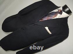HUGO BOSS model Einstein men's Blue 3 button jacket coat size 42 R