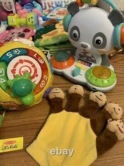 Huge Baby Toddler Toy Lot Educational Leapfrog Fisher Price Vtech Einstein +