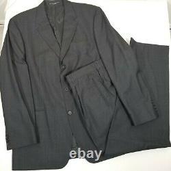 Hugo Boss Einstein/Sigma Men 2 Pieces Suit Black Shimmer Jacket 44L Pants 35x32