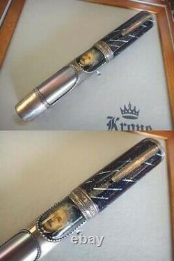 Krone Albert Einstein Silver Fountain Pen. 120/288 Limited Edition Super Rare