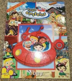 LOT Disney LITTLE EINSTEINS Transform Go Rocket Look Find Book Match Game Jacket