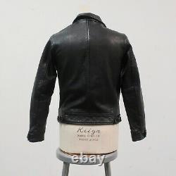 Levis LVC Menlo Cossack Leather Jacket Black Einstein