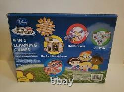 Little Einsteins 4 In 1 Learning Games Disney New Open Box