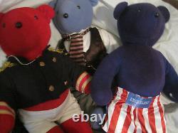 $Lot of 9North American Bear CompanyEinstein Liberace BogartLBDT1/2