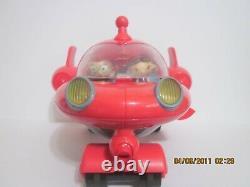 Mattel 2006 Little Einstein Pat Pat Rocket Ship and Figures