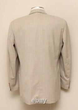 Mens 40L Hugo Boss Einstein/Omega Tan Wool Blend Blazer