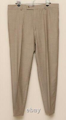 Mens 40L Hugo Boss Einstein/Sigma 2 Piece Light Brown 100% Wool Suit