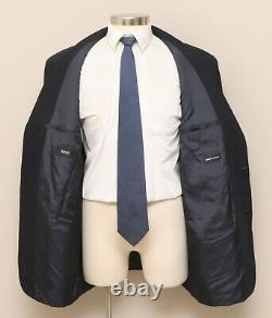 Mens 46L Hugo Boss Einstein/Beta Blue 100% Wool Blazer
