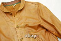 Mister Freedom Campus Jacket 40 Leather A-1 Cossack Einstein