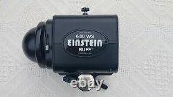 Paul C. Buff E640 Einstein Flash Unit with receiver, reflector & carrying bag