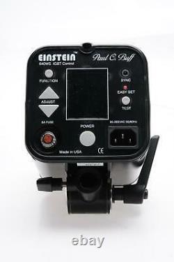 Paul C Buff Einstein E640 Strobe Flash Unit 640WS #378