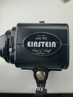 Paul C. Buff Einstein E640 Strobe - Less than 7400 Flash Count + Transceiver