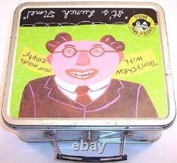 Pre-Owned Einstein Bros. Bagels Collectible Metal Lunchbox 2001
