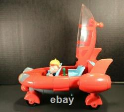 RARE Disney Little Einsteins PatPat Rocket Ship withFigures, Lights, Sounds Works