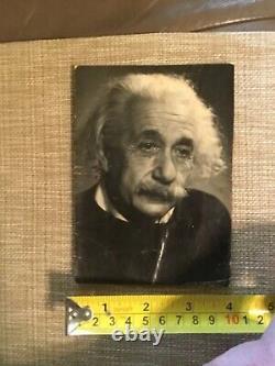 Rare Original Albert Einstein Photograph Nobel Prize 4 x 5.5 inches Princeton