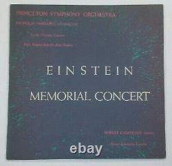 Rare Vinyl Albert Einstein Princeton Memorial Concert Album Limited Edition 1955