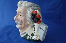 Royal Doulton Albert Einstein D7023 Large Character Jug