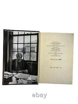 Signed Albert Einstein First Edition One and Only Intellectual Biography JSA