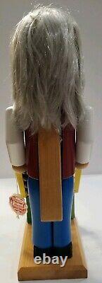 Steinbach S602 Albert Einstein Physicist Rare German VVHTF 25+Yrs Old Nutcracker
