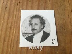 Sticker Card Albert Einstein # 80 Unstuck