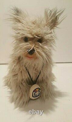 Super Rare Back to the Future Einstein Soft Fluffy Plush Dog 17
